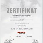 DSV-Zertifikat